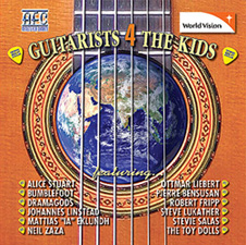 Artists For Charity - Guitarists 4 The Kids CD